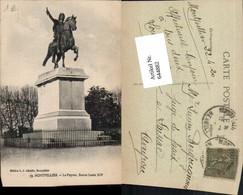 644882,Montpellier Herault Statue Louis XIV Peyrou - France