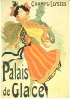 POSTAL   DE JULES CHÉRET  -PALAIS DE GLACE - Otras Colecciones