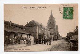 - CPA LAMNAY (72) - Route De La Ferté-Bernard (avec Personnages) - Edition Leroy Et Cormier - - Autres Communes