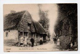- CPA SOTTEVILLE-SUR-MER (76) - Rue Du Moulin (avec Personnages) - Edition Marchand 209 - - Sotteville Les Rouen