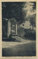CPA 2A 20 BOCOGNANO La Fontaine Monumentale Peu Courante - Francia