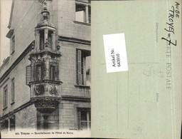 643910,Troyes Aube Erker Hotel De Marizy - Ohne Zuordnung