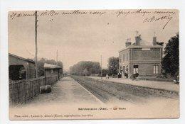 - CPA SÉRIFONTAINE (60) - La Gare 1903 - Photo-Edition Lamaury - - Francia