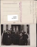 643825,Foto-AK Frauen Mode Hut Pelzmode Hüte Hutmode Männer Anzug Gruppenbild - Ansichtskarten