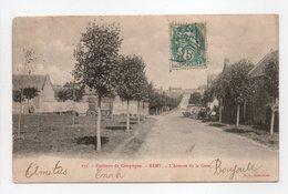 - CPA REMY (60) - L'Avenue De La Gare 1904 - Edition E. D. 175 - - Francia