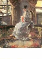 Peinture - James Ensor - La Dame En Bleu - Voir Scans Recto-Verso - Malerei & Gemälde