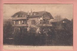 OLD POSTCARD SWITZERLAND - SCHWEIZ - SUISSE -   PENSION LA CIGALE - VENNES - VD Vaud