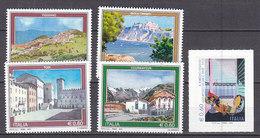 PGL DE0025 - ITALIA REPUBBLICA 2010 SASSONE N°3171/75 ** - 2001-10: Mint/hinged