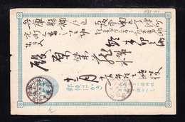 PST1-04 POST CARD JAPAN - Briefe U. Dokumente