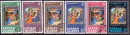 Cayman Islands 1973 SG #329-34 Compl.set Used Christmas - Iles Caïmans