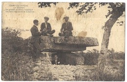 Camp Du Larzac Le Dolmen Un Gradé Aviateur Explique Les Lois Régissant Le Supplice - Zonder Classificatie