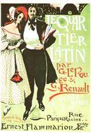 POSTAL  M. DE LAMBERT -LE QUARTIER LATIN  (MUSÉE DE L'AFFICHE-PARIS) - Otras Colecciones