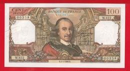 """BILLET DE 100 FRANCS """" CORNEILLE """" Du 2-5-1968  W.322  SPL - 1962-1997 ''Francs''"""
