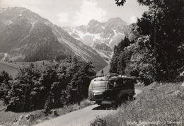 < Automobile Auto Voiture Car >> Bus Autobus Coach Setra, Strasse Schattenlagant-Lunersee - Buses & Coaches