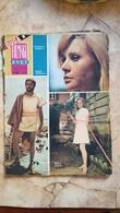 VINTAGE 1967 YUGOSLAVIA FILM MOVIE MAGAZINE NEWSPAPERS Robert Wagner Natalie Wood ALAIN DELON BEKIM FEHMIU Actor - Livres, BD, Revues