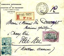 Rec. De STUNG -TRENG Pour PLEI-KU (Annam) - 1930 - - Cambodja