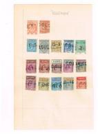 Indes Anglaises. Timbres Télégraphe à Identifier - Stamps
