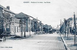 02)   CHAUNY  - Boulevard Gambetta  - Les Ecoles - Chauny