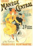 POSTAL   ANOM  .GRAND MANÈGE CENTRAL 1893 - Otras Colecciones