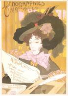 POSTAL   DE FAURE  . LITHOGRAPHIES ORIGINALS - Otras Colecciones