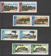 D940 1971 COMORES COMOROS NATURE ARCHITECTURE ISLANDS !!! MICHEL #119-22 26 EURO !!! 2SET MNH - Vacaciones & Turismo