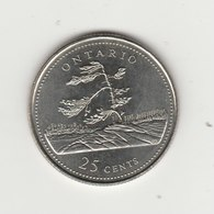 25 CENTS 1992 PROVINCE DE L'ONTARIO - Canada