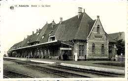 CPA - Belgique - Adinkerke - Statie - La Gare - Autres