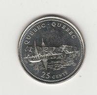 25 CENTS 1992 PROVINCE DU QUEBEC - Canada