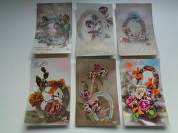 Beau Lot De 60 Cartes Postales De Fantaisie Fer à Cheval    Mooi Lot Van 60 Postkaarten Fantasie Hoefijzer  - 60 Scans - Postcards