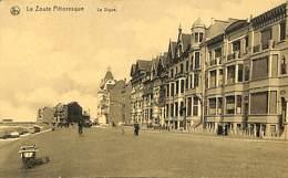 CPA - Belgique - Le Zoute Pittoresque - La Digue - Knokke