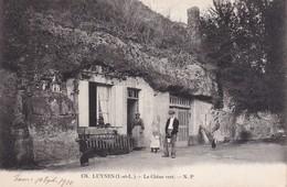 FRANCE  1910   CARTE POSTALE DE LUYNES  LE CHENE VERT - Luynes
