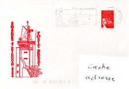 SEMAPHOREde BRIGNOGAN Obl. Brignogan 21/02/04 - Poststempel (Briefe)