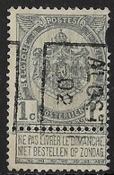 Aalst 1902  Nr. 405B Tanding Rechtsboven - Precancels