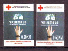 Bosnia BiH 2019 RED CROSS TBC (2) MNH - Bosnia Erzegovina
