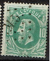 30  Obl  LP  M 5  + 12 - 1869-1883 Leopold II.