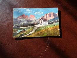 B754  Austria Dolomiti Hotel Pordol Cm14x9 Viaggiata - Austria