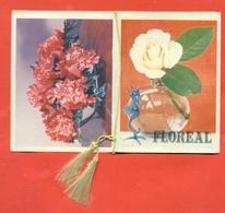 CALENDARIETTO DA BARBIERE - TEMA FLOREALE - 1968 - - Calendari