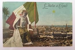 V 57001 Libia Italiana - L'Italia In Libia - Heimat