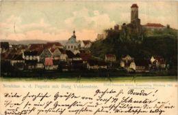 CPA AK Neuhaus A. D. Pegnitz - Burg Veldenstein - Totalansicht GERMANY (918962) - Pegnitz