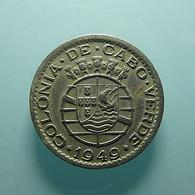 Portuguese Cabo Verde 50 Centavos 1949 - Portogallo