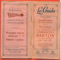 MANUALE FARMACEUTICA-FARMACIA  PARTOS - NEW YORK - VOLUMETTO DI 64 PAGINE - CM 10 X 20 - Médecine, Biologie, Chimie