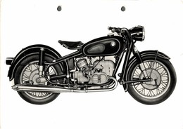 "BMW R50 +- 22cm X 14cm "" Perforada "" Moto MOTOCROSS MOTORCYCLE Douglas J Jackson Archive Of Motorcycles - Foto's"