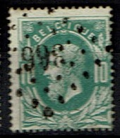 30  Obl  LP 366  Tubize  + 6 - 1869-1883 Leopold II.