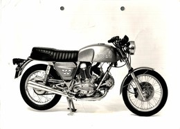 "Ducati 750 +- 23cm X 16cm "" Perforada "" Moto MOTOCROSS MOTORCYCLE Douglas J Jackson Archive Of Motorcycles - Foto's"