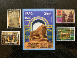 Iraq 2019 Babylon UNESCO World Heritage Stamp Issue SS MNH Single - Irak