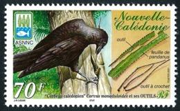 NOUV.-CALEDONIE 2001 - Yv. 843 **   Faciale= 0,59 EUR - Oiseau Corbeau Et Ses Outils  ..Réf.NCE25504 - New Caledonia