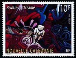 NOUV.-CALEDONIE 2001 - Yv. 846 **   Faciale= 0,92 EUR - Peintres D'Océanie  ..Réf.NCE25506 - New Caledonia
