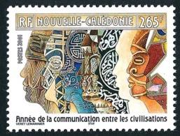 NOUV.-CALEDONIE 2001 - Yv. 848 **   Faciale= 2,22 EUR - Communication Entre Civilisations  ..Réf.NCE25508 - New Caledonia