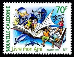 NOUV.-CALEDONIE 2001 - Yv. 859 **   Faciale= 0,59 EUR - Livre Mon Ami  ..Réf.NCE25518 - Nieuw-Caledonië