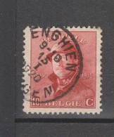 COB 168 Oblitération Centrale ENGHIEN EDINGEN - 1919-1920 Albert Met Helm